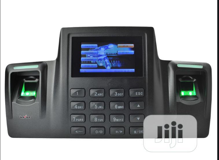 ZKT DS100 Dual Sensor Fingerprint Biomatric Attendance With Wifi