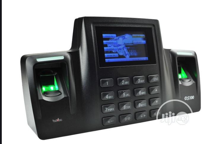 ZKT DS100 Dual Sensor Fingerprint Biomatric Attendance With Wifi | Computer Accessories  for sale in Ikeja, Lagos State, Nigeria