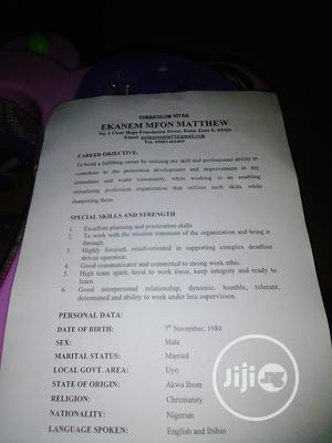 Personal Driver (Family   Driver CVs for sale in Abuja (FCT) State, Gwarinpa