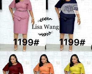 New Lisa Wang Female Peplon Gown   Clothing for sale in Lagos State, Ikeja