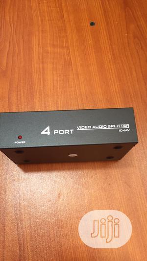 4 Port AV Splitter | Accessories & Supplies for Electronics for sale in Lagos State, Ikeja