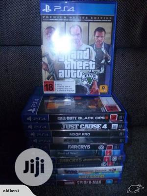 PS3 and PS4 Games Installation Cheap in Lagos | Video Games for sale in Lagos State, Ikeja