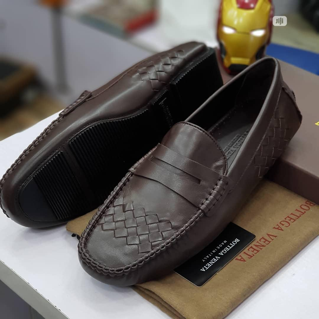 Men Loafers Shoe Available in Brown Order Yours Now