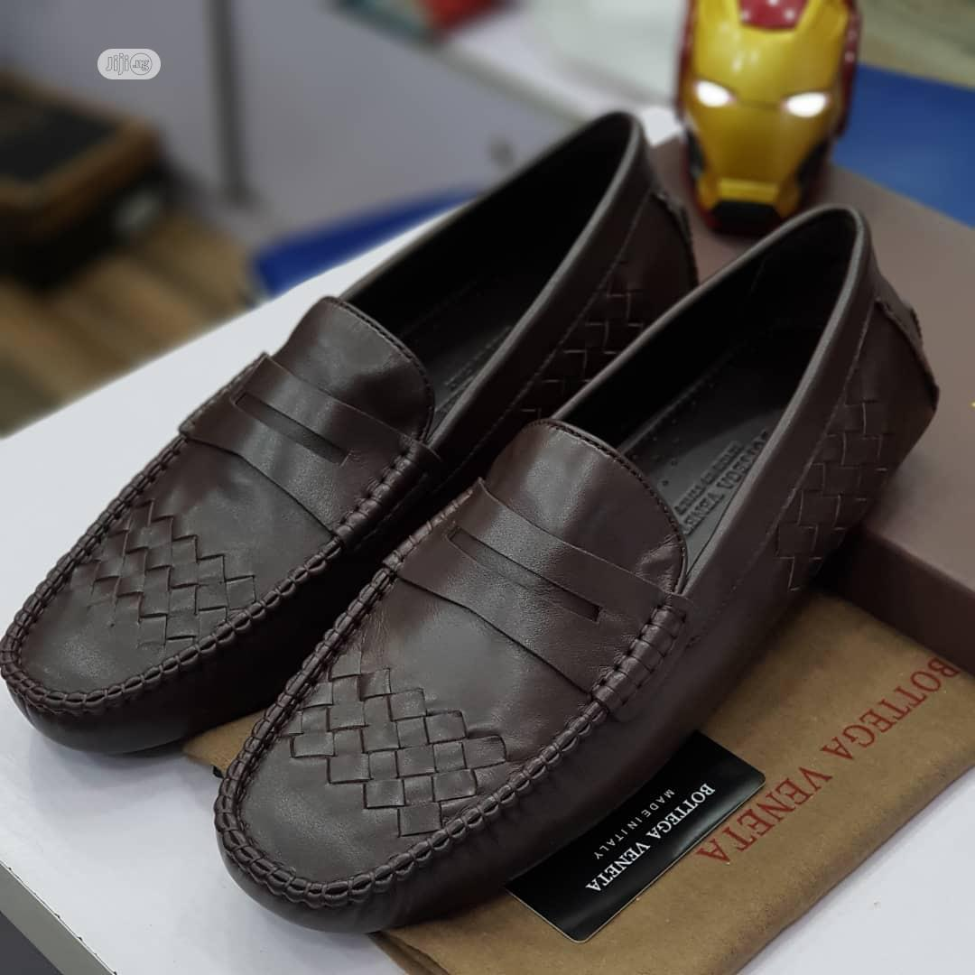 Men Loafers Shoe Available in Brown Order Yours Now   Shoes for sale in Lagos Island (Eko), Lagos State, Nigeria