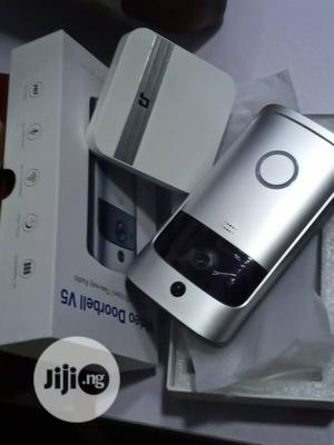 Wi-Fi Video Doorbell, Rechargeable Batteries With Ringer | Home Appliances for sale in Lagos State, Ikeja