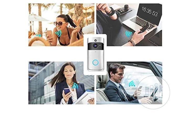 Smart WIFI Video Doorbell, Wireless Smart Doorbell HD Real-time Talk