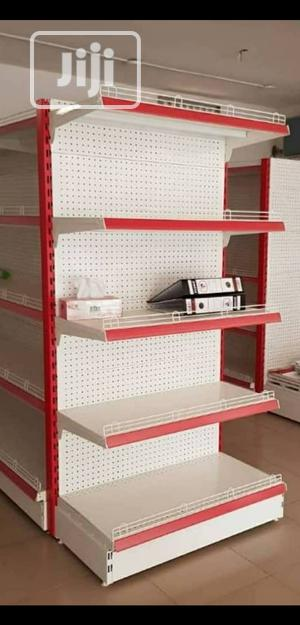 High Quality Single Sided Perforated Shelving Supermarket Display | Store Equipment for sale in Abuja (FCT) State, Jabi