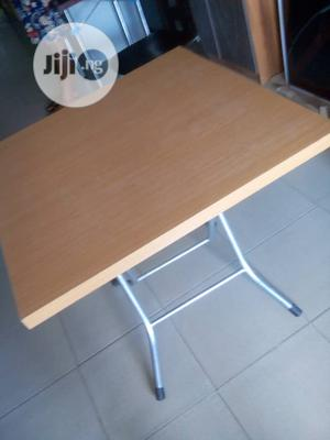 Wooden Table With Metal Table   Furniture for sale in Lagos State, Ikeja