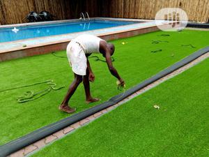 Original & New Artificial Green Grass Carpet For Home/Garden.   Garden for sale in Lagos State, Ikeja