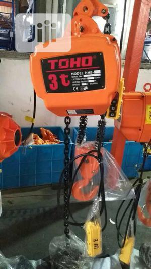 TOHO Electric Chain Hoist 3ton   Manufacturing Equipment for sale in Lagos State, Amuwo-Odofin