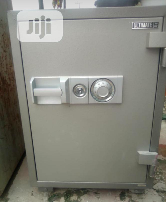 Brand New Imported Fire Proof Safe With Security Numbers And Key's.