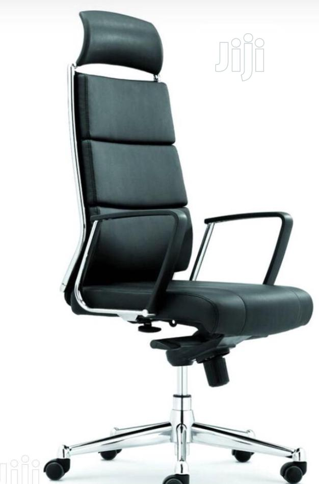 Pure Italian Leather Executive Office Chair