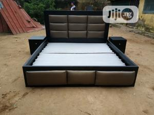 6 by 6 Kings Bed With Two Bed Side | Furniture for sale in Abuja (FCT) State, Lugbe District