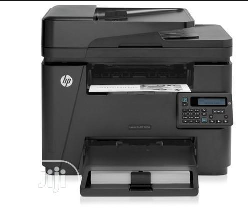 HP Laserjet Pro M225dn Printer - Black White   Printers & Scanners for sale in Ikeja, Lagos State, Nigeria