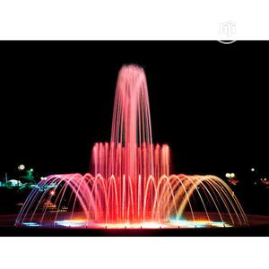 We Build Round Water Fountains That Will Wow You | Building & Trades Services for sale in Abuja (FCT) State, Asokoro