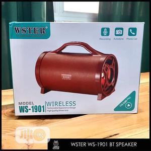 Wster Ws-1901 Bluetooth Speaker   Audio & Music Equipment for sale in Lagos State, Ikeja