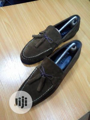Suede Loafers With Tassel, Golding Brown Suede Shoe | Shoes for sale in Lagos State, Gbagada