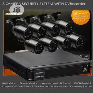 8 Camera CCTV Security System With DVR | Security & Surveillance for sale in Lagos State