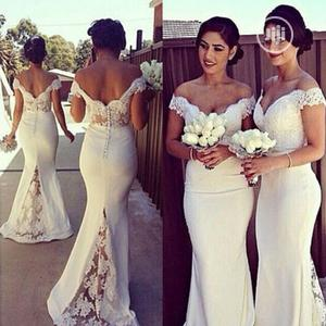 New Chiffon Wedding Maxi Formal Party Dress | Wedding Wear & Accessories for sale in Lagos State, Ikoyi