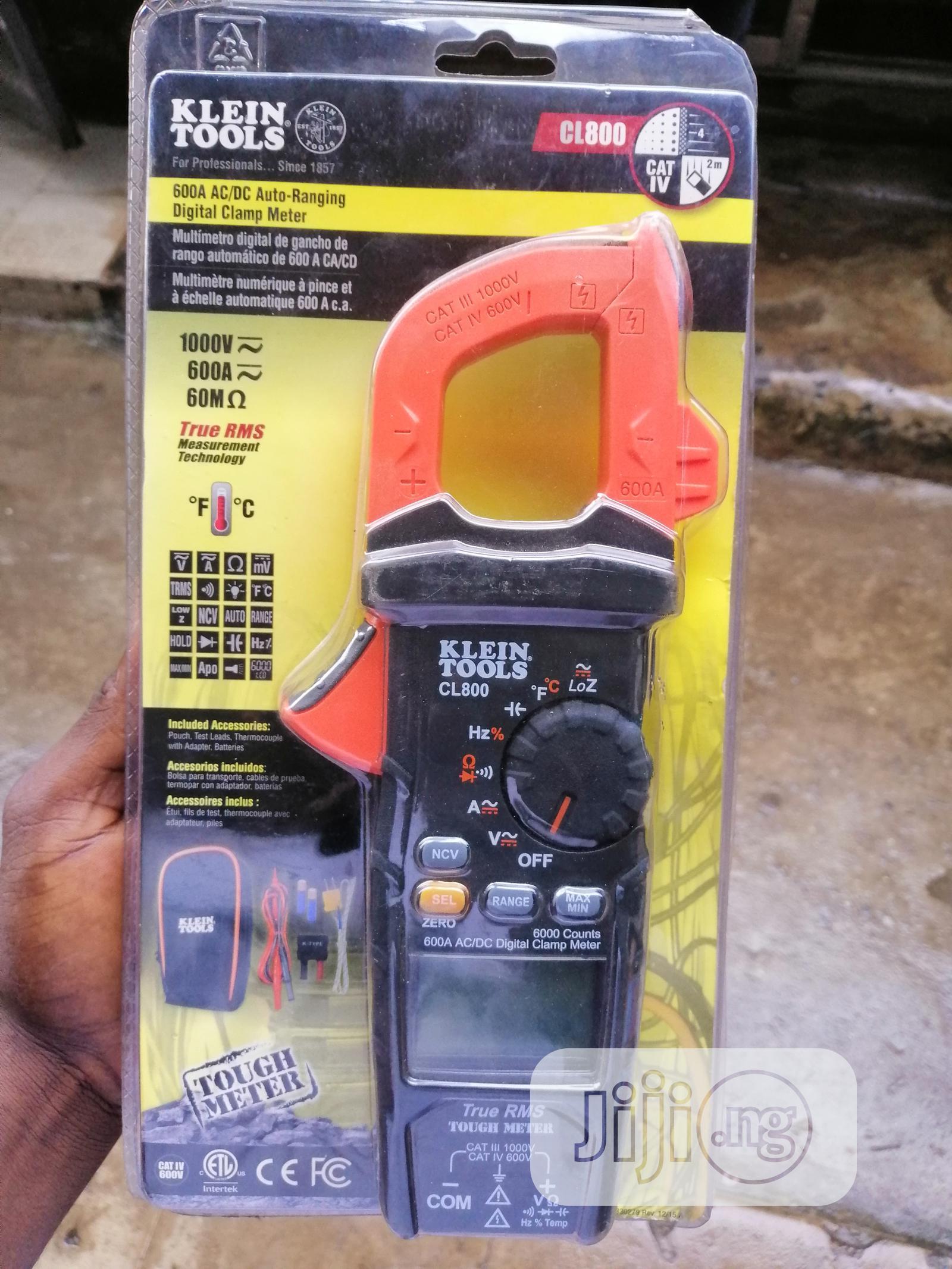 Klein Tools CL800 AC/DC Clamp Meter
