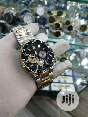 Citizen (Eco Drive) Chronograph Gold/Silver Chain Watch | Watches for sale in Lagos State, Lagos Island (Eko)