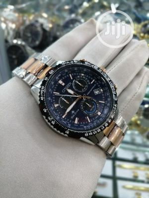 Citizen (Eco Drive) Chronograph Rose Gold/Silver Chain Watch   Watches for sale in Lagos State, Lagos Island (Eko)