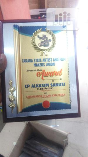 Wooden Plaque Award | Arts & Crafts for sale in Abuja (FCT) State, Wuse 2
