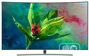 Samsung 65 Inch QLED 4K Curved TV - 65Q8CNA   TV & DVD Equipment for sale in Lagos State, Lekki