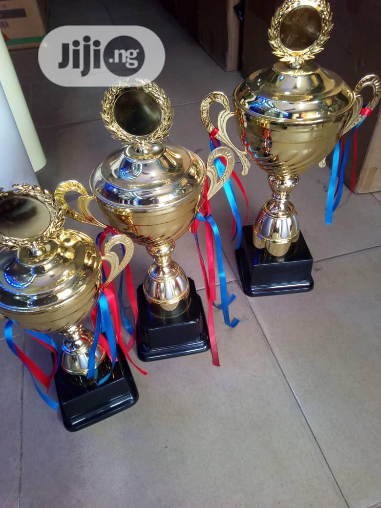 Gold Award Trophy
