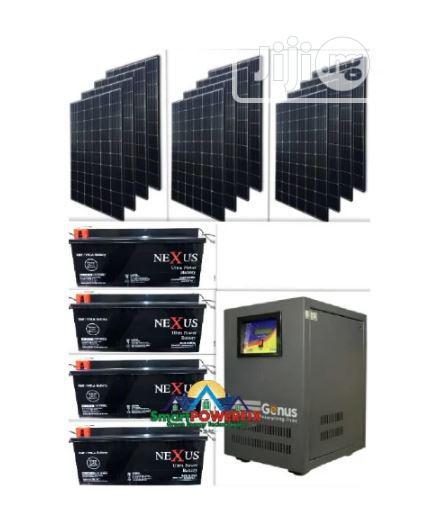 Full 4000VA Inverter And Solar Installation