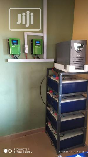 Solar Inverter Battery Panel Installation | Building & Trades Services for sale in Lagos State, Lekki
