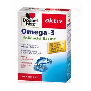 Omega-3 Fish Oil 2000mg by 30 Capsules | Vitamins & Supplements for sale in Abuja (FCT) State, Wuse 2