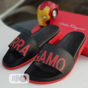 Ferragamo Pam Slippers Available in Black Order Yours Now | Shoes for sale in Lagos State, Lagos Island (Eko)