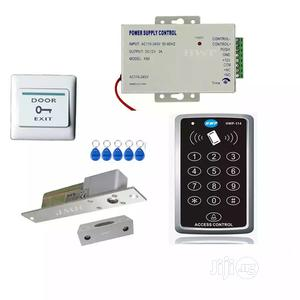 Rfid Keypad +Bolt Lock Access Control Kit Door Access System | Doors for sale in Lagos State, Ikeja
