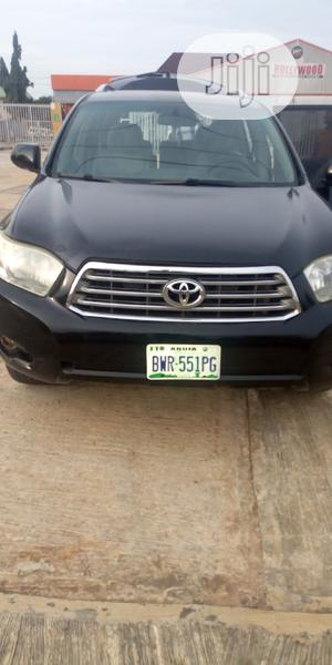 Toyota Highlander 2008 Black | Cars for sale in Anambra State, Awka