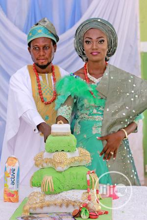Four Tier Trow Pillow Wedding Cake For Sale   Wedding Venues & Services for sale in Lagos State, Ikorodu