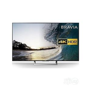 49' Black Sony UHD 4K High Dynamic Range Smart TV -49X7000F   TV & DVD Equipment for sale in Lagos State, Ikoyi
