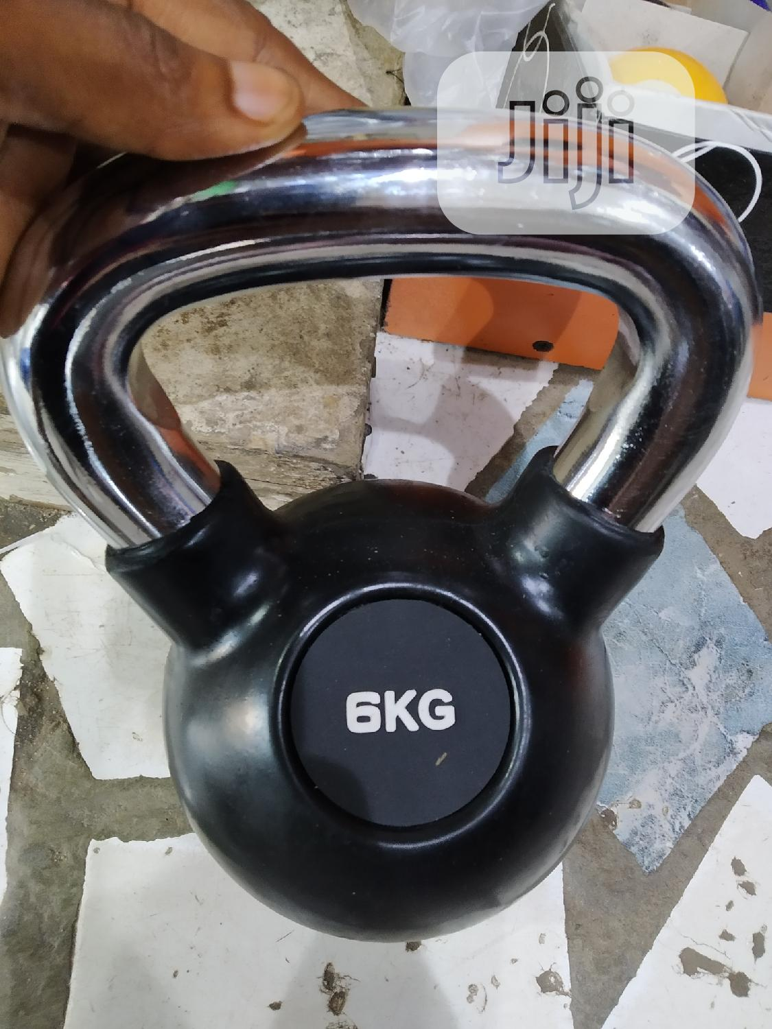 6kg Kettlebell AB Bodyfit   Sports Equipment for sale in Surulere, Lagos State, Nigeria