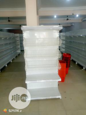 Single Sided Supermarket Display Shelving With 4 Layers | Store Equipment for sale in Lagos State