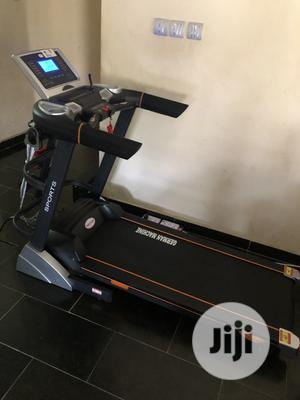 Brand New 3hp Treadmill With Massager   Sports Equipment for sale in Lagos State