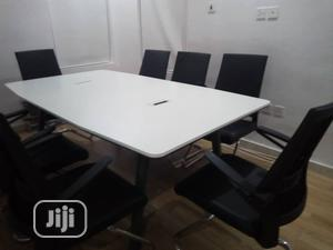 2meter White Conference Table | Furniture for sale in Lagos State, Victoria Island