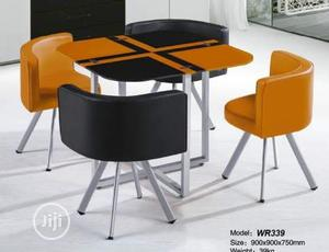 Quality Strong Four Seater Glass Dinning Table | Furniture for sale in Lagos State, Badagry