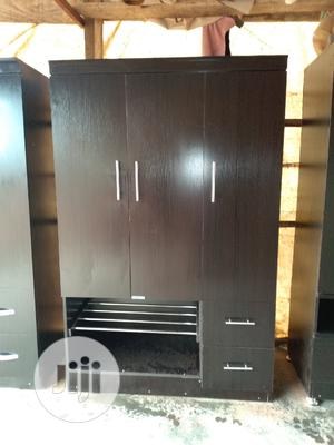 Three Doors Wardrobe 4by6   Furniture for sale in Abuja (FCT) State, Lugbe District
