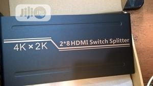 HDMI SWITCH+SPLITTER 2 Input TO 8 Output (4K*2K) | Accessories & Supplies for Electronics for sale in Lagos State, Ikeja