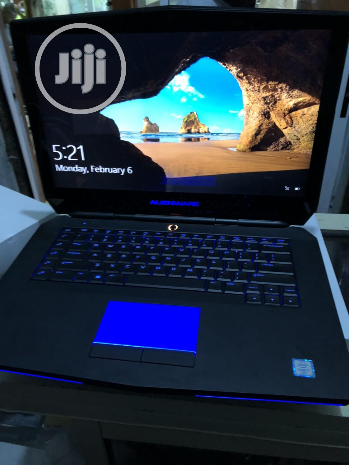 Laptop Dell Alienware 15 R2 16GB Intel Core i7 SSHD (Hybrid) 1T   Laptops & Computers for sale in Ikeja, Lagos State, Nigeria