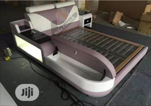 Model,,GX:4 Upholstery Sofa's Bed's Frame,, Leather Cover,, LED Lights   Furniture for sale in Lagos State, Ajah
