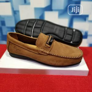 Men Brown Leather Loafers Shoes | Shoes for sale in Lagos State, Lagos Island (Eko)