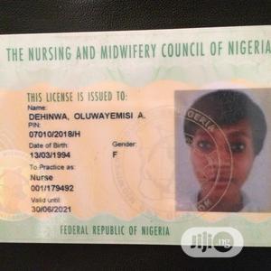 Registered Nurse | Healthcare & Nursing CVs for sale in Lagos State, Yaba