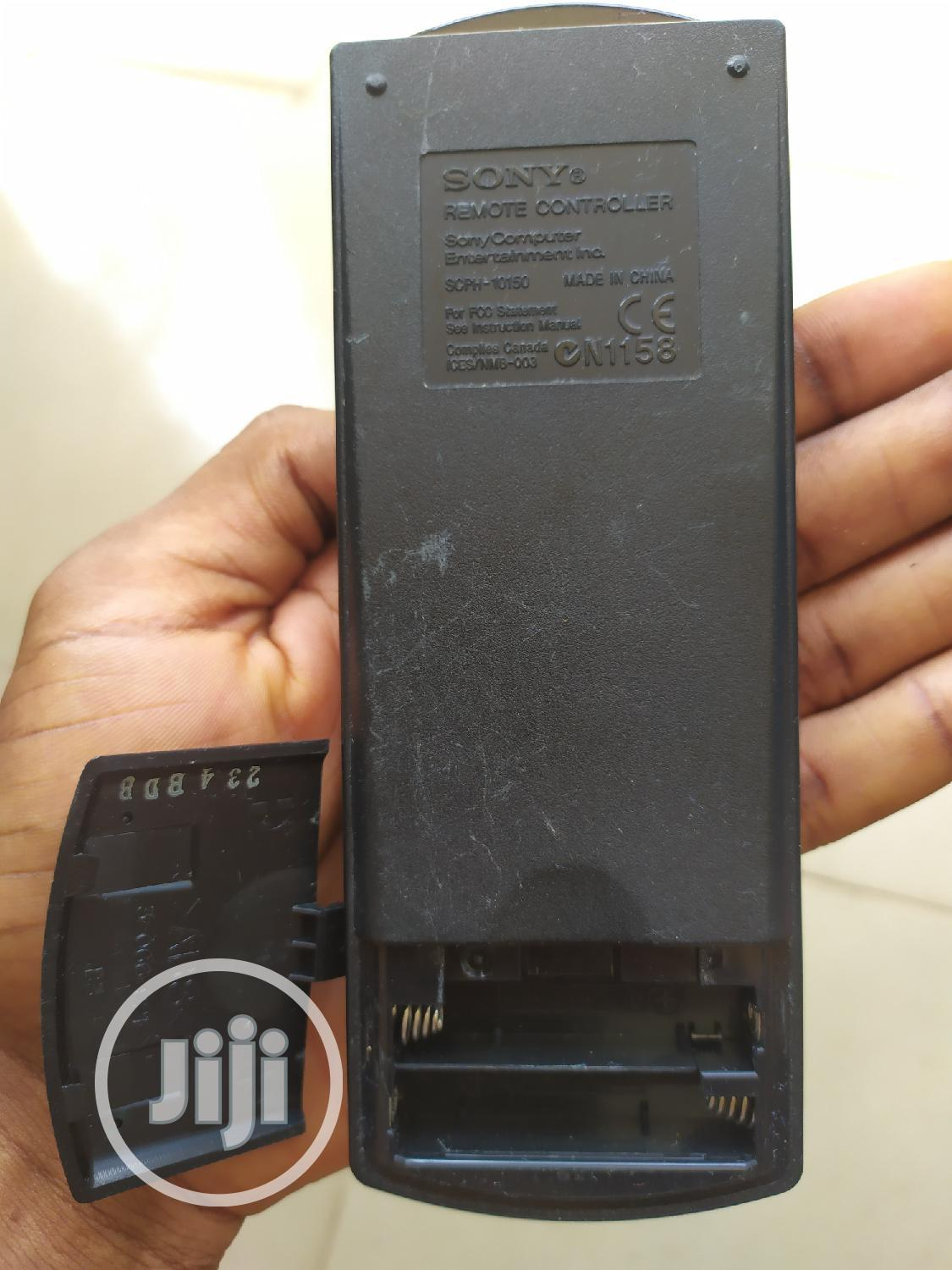 Sony Playstation 2 Ps2 Dvd Remote Controller | Accessories & Supplies for Electronics for sale in Ibadan, Oyo State, Nigeria