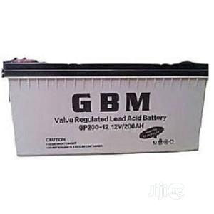 200ah 12v Inverter Battery- Gbm   Electrical Equipment for sale in Lagos State, Ojo